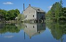 Bellamy's Flour Mill, Upper Canada Village, Ontario by Colin Harper by Mike Oxley