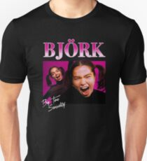 Camiseta unisex Vintage años 90 Bjork