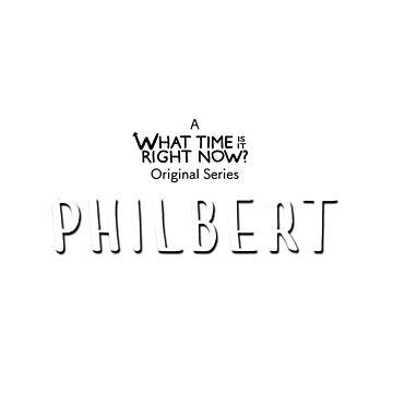 Philbert Detective Show logo by eightyeightjoe