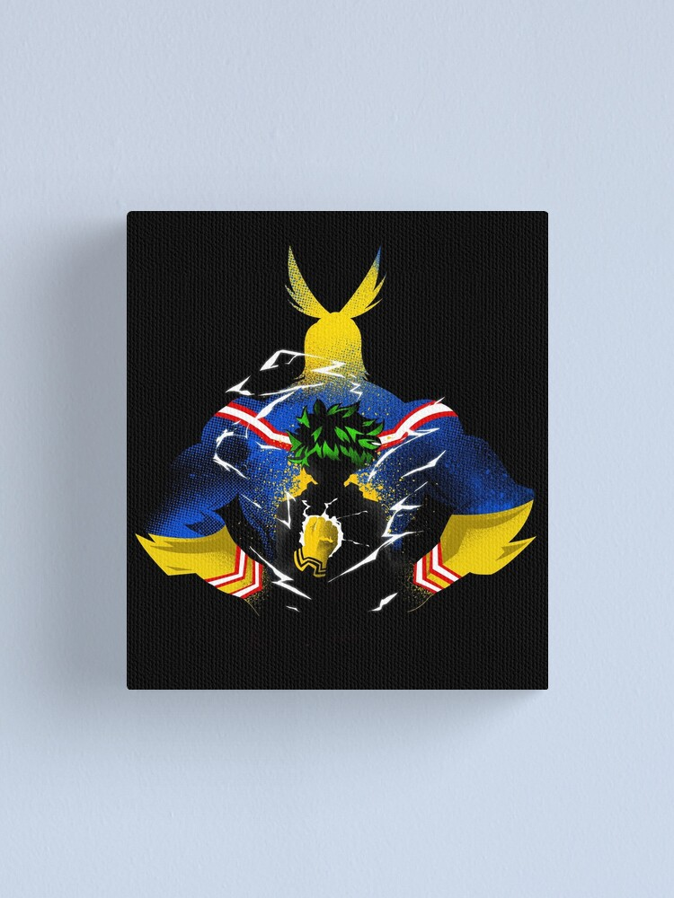 Alternate view of All-MIght! Canvas Print