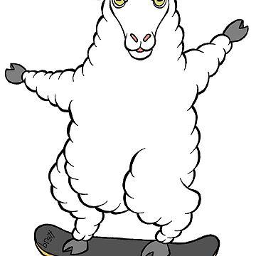 Sheep Skate by bgilbert