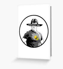 Captain Hammer: Nemesis Greeting Card