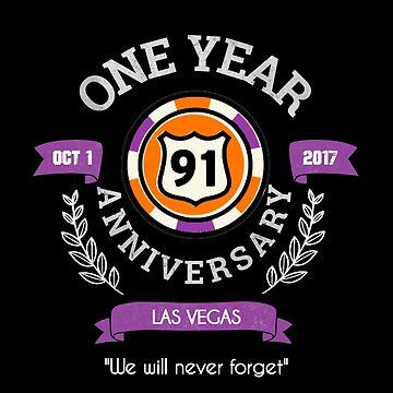 Las Vegas Shooting   1 Year Anniversary   Route 91 Harvest Festival   Dark Apparel by PureCreations