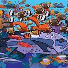 Reef 2 by David  Kennett