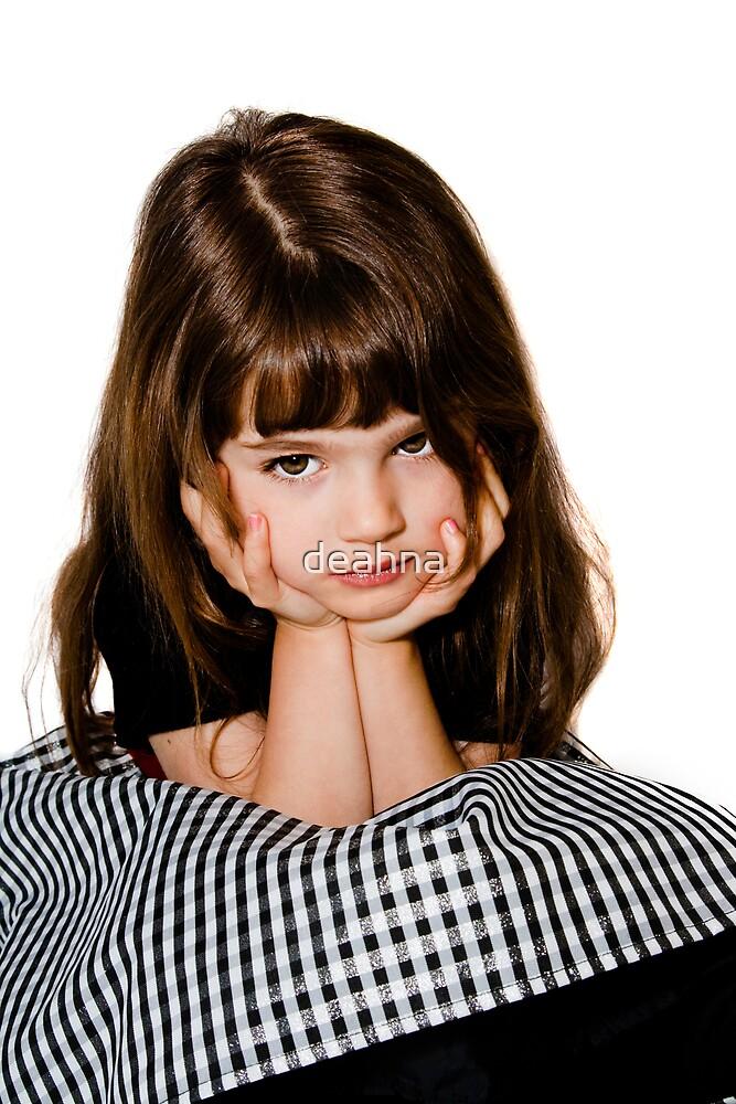 A grumpy princess! by deahna