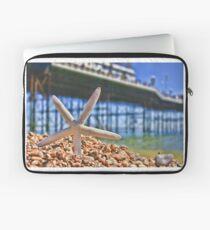 Summer in Brighton, England Laptop Sleeve