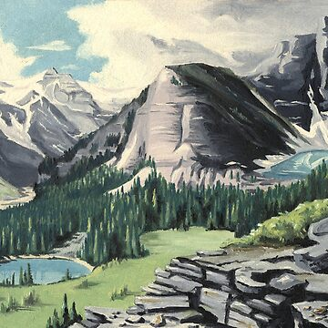 Canadian Rockies by junglequeen