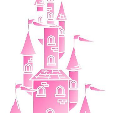 The Pink Castle by grace-designs
