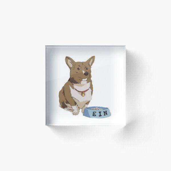 Best Dog Ein Acrylic Block