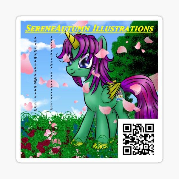 Serene Sequitur, Alicorn of Sequential Art Sticker