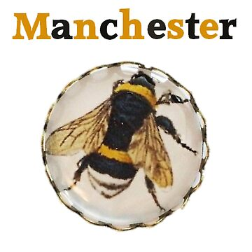 Manchester Worker Bee - We Stand Together by Glyn123