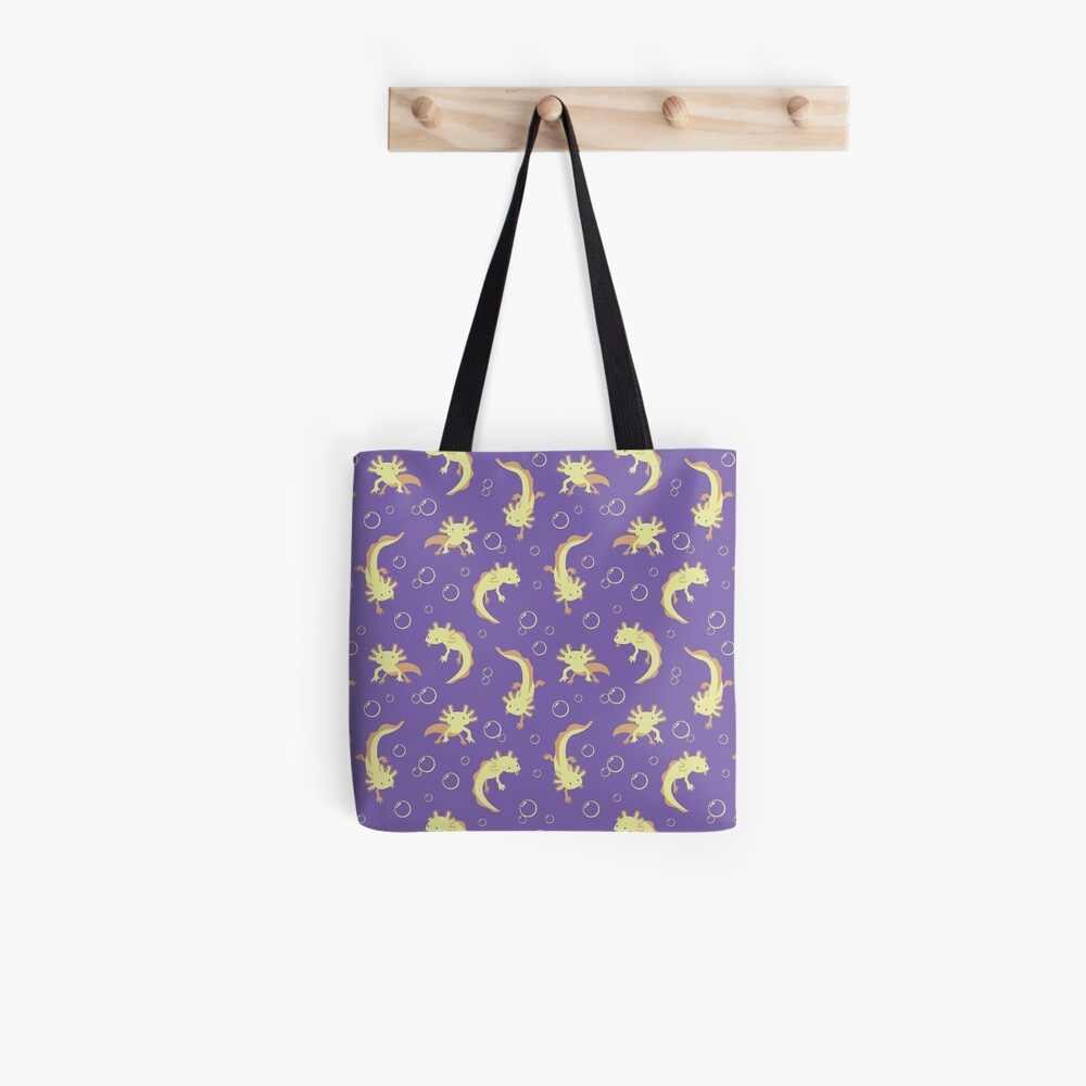 Relaxolotl - Lilac Tote Bag