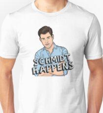 Schmidt Happens Unisex T-Shirt