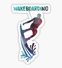 Wakeboard Sticker