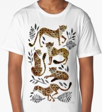 Cheetah Collection – Mocha & Black Palette Long T-Shirt
