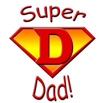 JB Prints Co: Super Dad! Design by jbprintsco