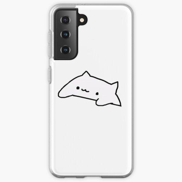 The Cute Bongo Cat Meme Samsung Galaxy Soft Case