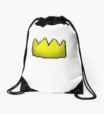 Old School Runescape Yellow Party Hat Drawstring Bag