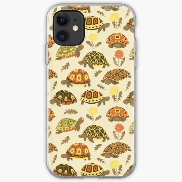 Tubby Tortoises iPhone Soft Case