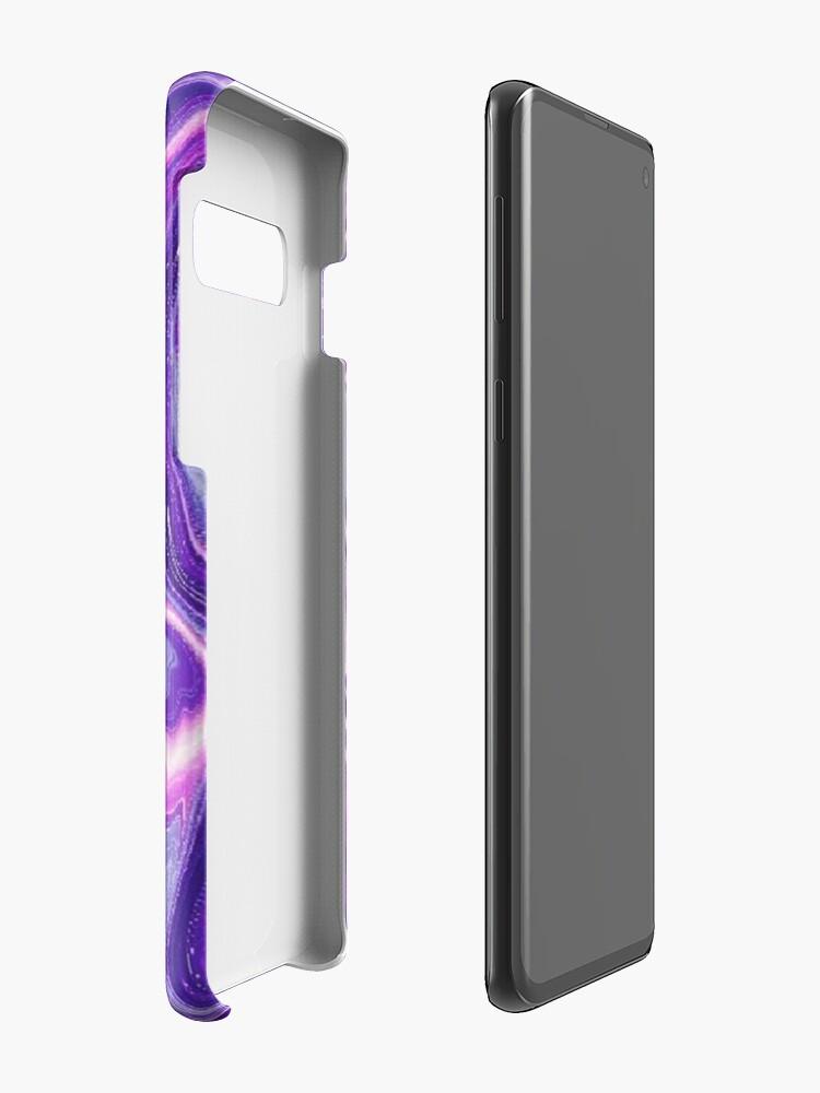 Alternative Ansicht von Lila Badebombe - Iphone & Galaxy Hüllen Hülle & Klebefolie für Samsung Galaxy