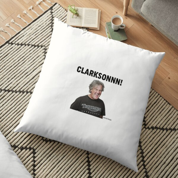 Clarksonnn! Floor Pillow