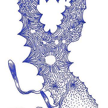 The talking Doggie-flower of Odilon R by mmooww