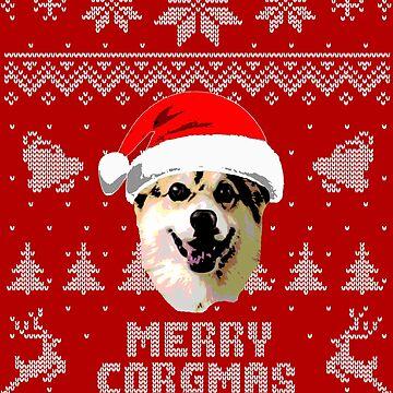 Merry Corgmas by idaspark