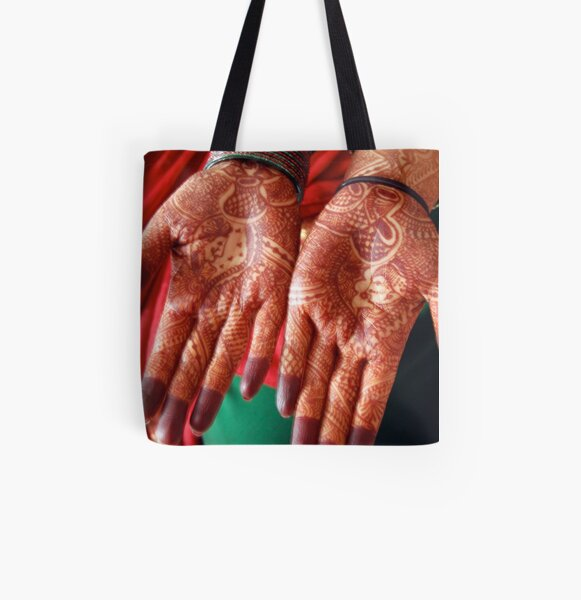 Open hands All Over Print Tote Bag