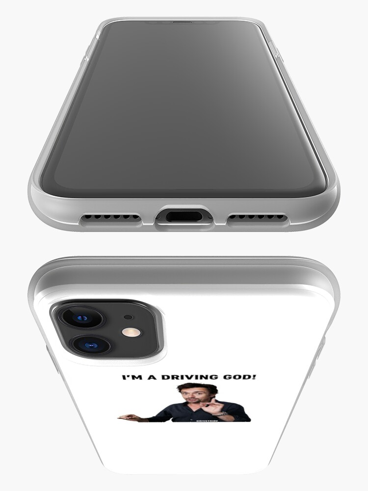 Alternate view of I'm a driving god!  iPhone Case & Cover