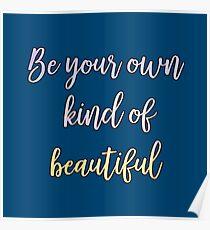 Deep quotes beautiful Poster