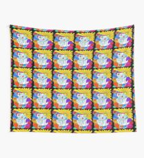 Life And Soul Sixties Inspired  Wall Tapestry