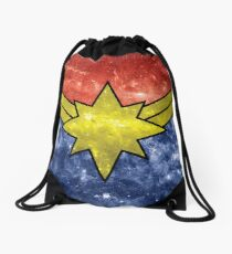 Punch Holes in the Sky Drawstring Bag