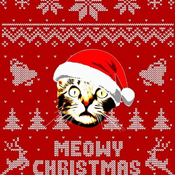Meowy Christmas by idaspark