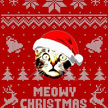 Meowy Christmas by idaspark