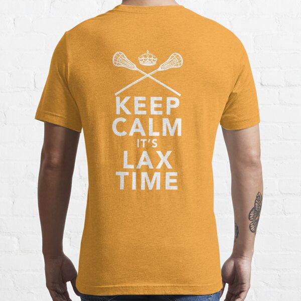 KEEP CALM - LAX TIME Essential T-Shirt