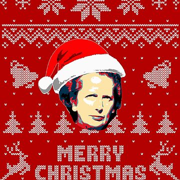 Margaret Thatcher Merry Christmas by idaspark