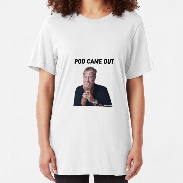 Poo came out  Slim Fit T-Shirt