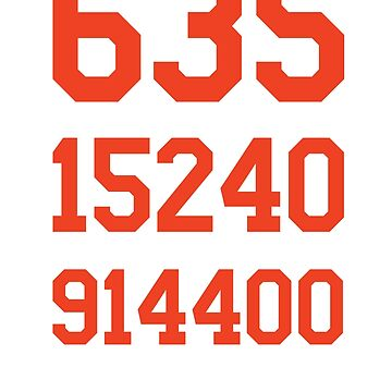 635 Days (Orange/White) by Pelicaine