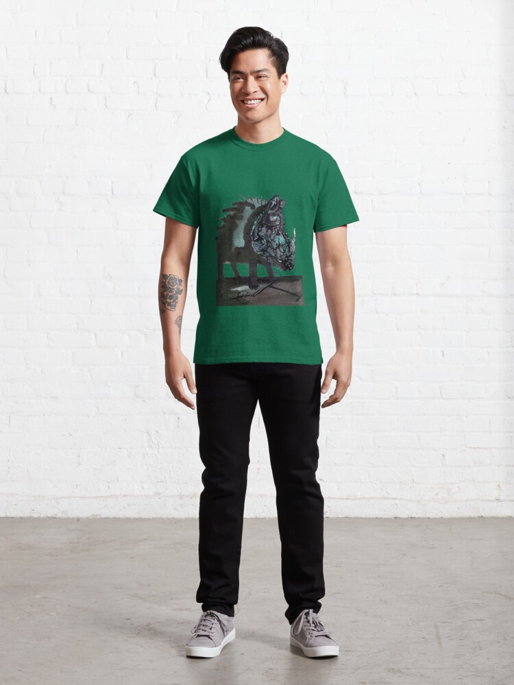 Alternate view of Rhinoceros on wheels Classic T-Shirt