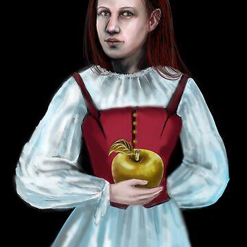 Golden Apple by Anthropolog