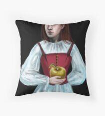 Golden Apple Throw Pillow