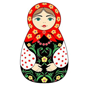Russian doll by AnnaDrawz