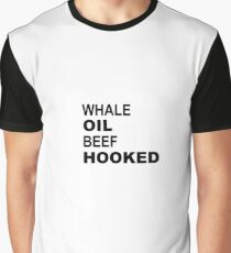 Whale Oil Beef Hooked Graphic T-Shirt