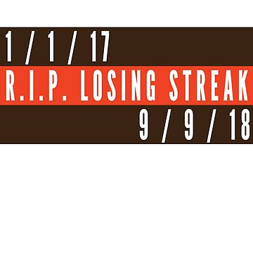 RIP Losing Streak (Brown/Orange) by Pelicaine