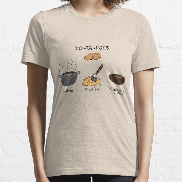 PAPAS Camiseta esencial