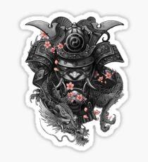 Samurai helmet Sticker