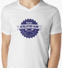 Real Athletes Row Men's V-Neck T-Shirt