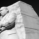 A Man Carved Out of Rock - Martin Luther King, Jr. by Cora Wandel