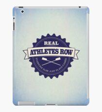 Real Athletes Row iPad Case/Skin
