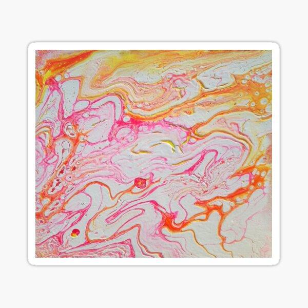 Pink Raninbow Sticker